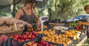 Picture of: Eating Fruit and Vegetables on Elba