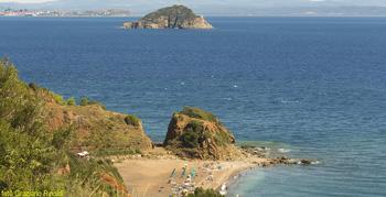 Cala Seregola along the eastern coast of Elba Island