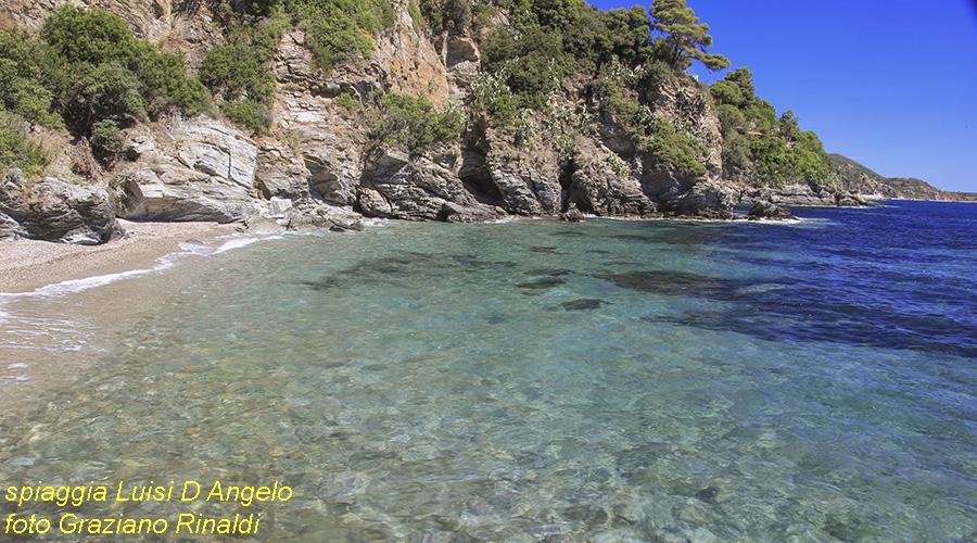 Elba Island; clear waters