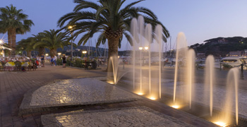 Elba Island, Porto Azzurro, Italy, Toscana, Mediterranean sea