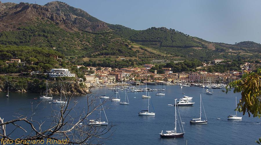 Elba Island, Porto Azzurro, Hafen, mediterranean sea