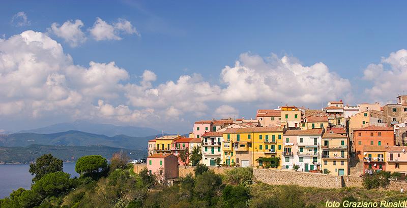 Elba Island, Capoliveri, places to visit, Mediterranean sea. Italy, Toscana