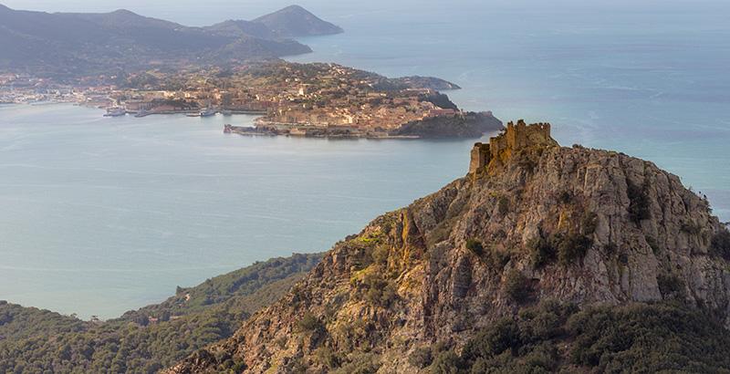 Elba Island, Portoferraio, places to visit, Mediterranean sea. Italy, Toscana
