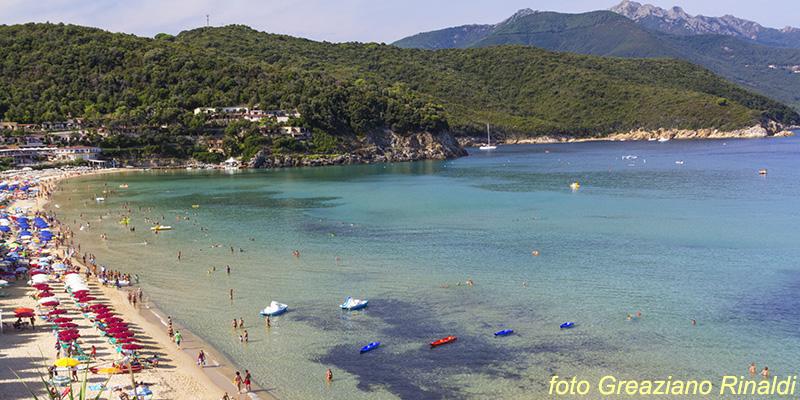 Biodola, Forno, Scaglieri, Elba Island, Italy, Mediterranean sea, Holidays, Summer, beach, family holiday